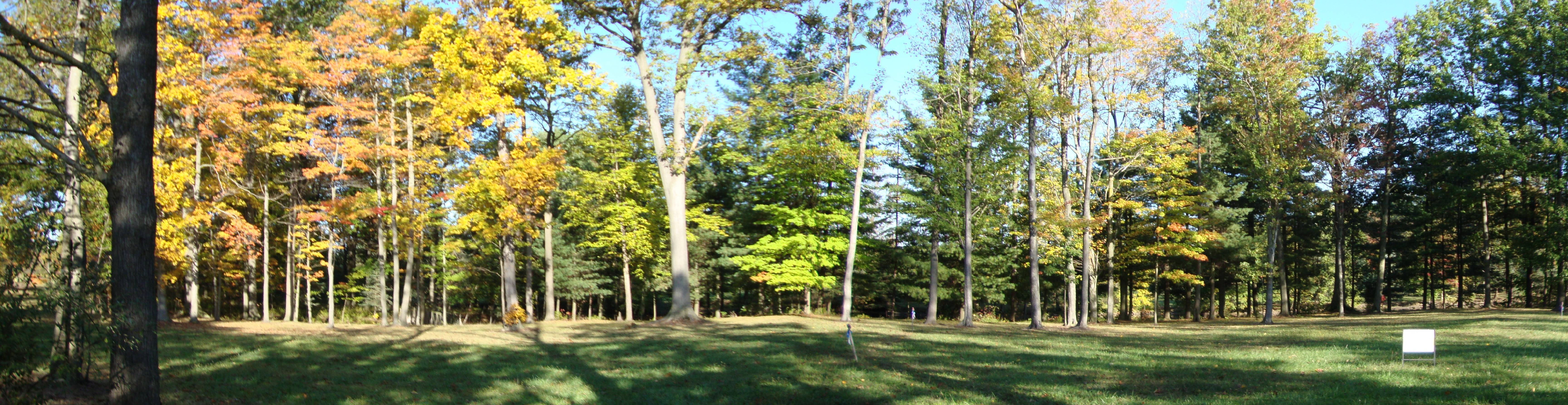Lot 13's home site next to the 2-1/2-Acre lake